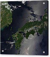 North And South Korea, And The Japanese Acrylic Print