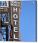 North Beach Hotel San Francisco Acrylic Print