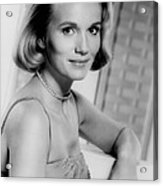 North By Northwest, Eva Marie Saint Acrylic Print by Everett