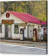 North Carolina Country Store And Gas Station Acrylic Print
