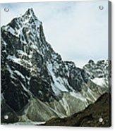 North Face Of Cholatse Peak Towers Acrylic Print