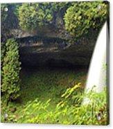 North Falls At Silver Falls Acrylic Print