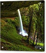 North Falls Cavern Acrylic Print