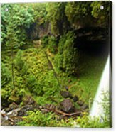 North Falls Waterfall Acrylic Print
