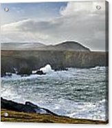 North Mayo, Co Mayo, Ireland Sea Cliffs Acrylic Print