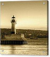 North Pier Lighthouse Acrylic Print
