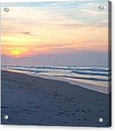 North Topsail Beach Serenity  Acrylic Print