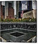 North Tower Memorial Acrylic Print