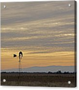 Northern California Windmill Acrylic Print