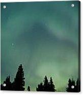Northern Lights, Birds Hill Provincial Acrylic Print