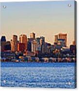Northwest Jewel - Seattle Skyline Cityscape Acrylic Print