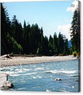 Northwest River Acrylic Print