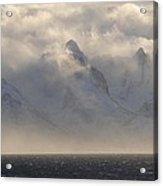 Norwegian Arctic Hills Acrylic Print