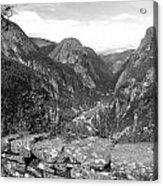 Norwegian Valley Acrylic Print