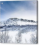 Norwegian Winter Acrylic Print