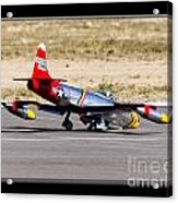 Nose Gear Trouble Acrylic Print