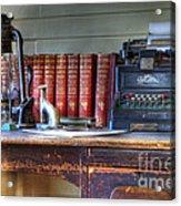 Nostalgia Office Acrylic Print