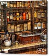 Nostalgia Pharmacy 2 Acrylic Print