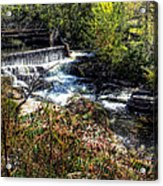 Not Buttermilk Falls Acrylic Print