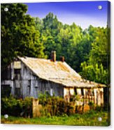 Not So Far From A Home Acrylic Print