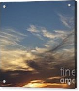 Nothing But Sky Acrylic Print