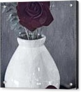 Nothing's Perfect Acrylic Print