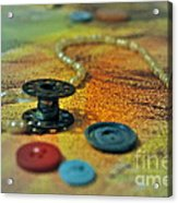 Notions Acrylic Print