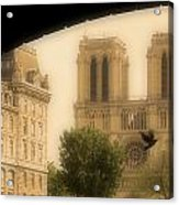 Notre Dame Cathedral Viewed Acrylic Print