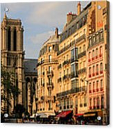 Notre Dame De Paris 3 Acrylic Print