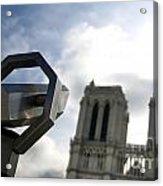 Notre Dame De Paris. France Acrylic Print