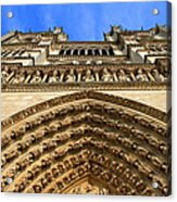 Notre Dame Details 7 Acrylic Print