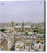 Notre Dame In Paris Acrylic Print