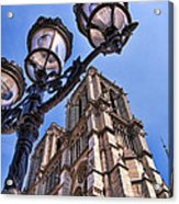 Notre Dame Tower Acrylic Print