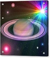 Nova Rainbow Acrylic Print