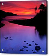 Nova Scotia Sunrise Acrylic Print