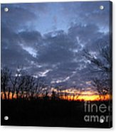November Sunrise Acrylic Print