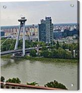 Novy Most Bridge - Bratislava Acrylic Print