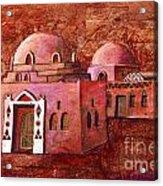 Nubian Houses Acrylic Print