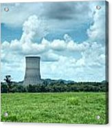 Nuclear Cooling Tower Acrylic Print