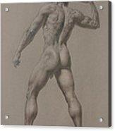 Nude-8 Acrylic Print by Valeriy Mavlo