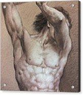 Nude 9 A Acrylic Print