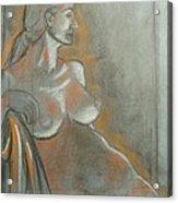 Nude Model  Acrylic Print