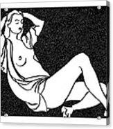 Nude Sketch 58 Acrylic Print