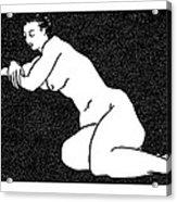 Nude Sketch 60 Acrylic Print