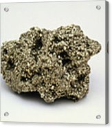 Nugget Of Fool's Gold, Iron Pyrites Acrylic Print