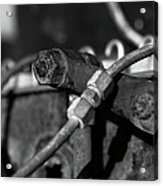 Nuts Bolts Pipes Acrylic Print