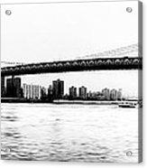 Nyc - Manhattan Bridge Acrylic Print
