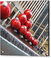 Nyc Christmas Acrylic Print