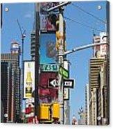 Nyc Directions Acrylic Print
