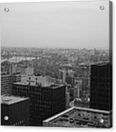 Nyc From The Top 2 Acrylic Print